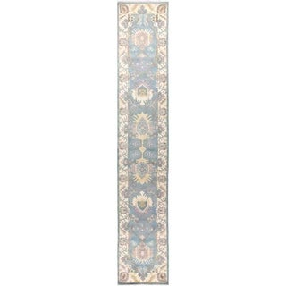 """Eclectic, Hand Knotted Area Rug -  2' 7"""" x 14' 4"""" - 2'7"""" x 14'4"""" Runner"""