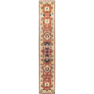 """Eclectic, Hand Knotted Area Rug -  2' 8"""" x 16' 3"""" - 2'8"""" x 16'3"""" Runner"""