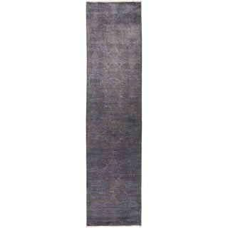 """Vibrance, Hand Knotted Area Rug -  3' 0"""" x 11' 10"""" - 3' x 11'10"""" Runner"""