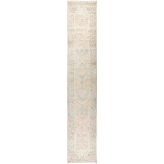 """Eclectic, Hand Knotted Area Rug -  2' 7"""" x 14' 1"""" - 2'7"""" x 14'1"""" Runner"""