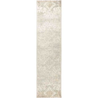 """Eclectic, Hand Knotted Area Rug -  2' 8"""" x 10' 6"""" - 2'8"""" x 10'6"""" Runner"""