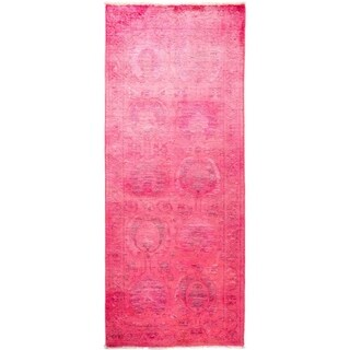 """Vibrance, Hand Knotted Area Rug -  3' 1"""" x 7' 7"""" - 3'1"""" x 7'7"""" Runner"""