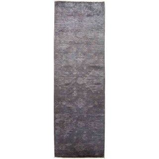 """Vibrance, Hand Knotted Area Rug -  3' 1"""" x 10' 0"""" - 3'1"""" x 10' Runner"""