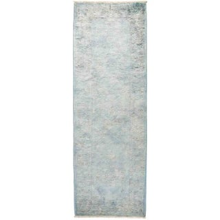 """Vibrance, Hand Knotted Area Rug -  2' 7"""" x 7' 10"""" - 2'7"""" x 7'10"""" Runner/Surplus"""
