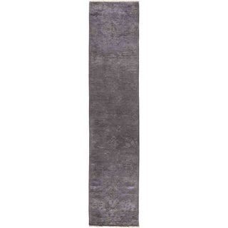 "Vibrance, Hand Knotted Area Rug -  2' 7"" x 11' 10"" - 2'7"" x 11'10"" Runner"