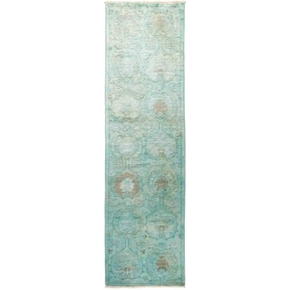 """Vibrance, Hand Knotted Area Rug -  2' 8"""" x 9' 10"""" - 2'8"""" x 9'10"""" Runner/Surplus"""