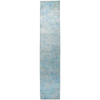 """Vibrance, Hand Knotted Area Rug -  2' 7"""" x 13' 7"""" - 2'7"""" x 13'7"""" Runner"""