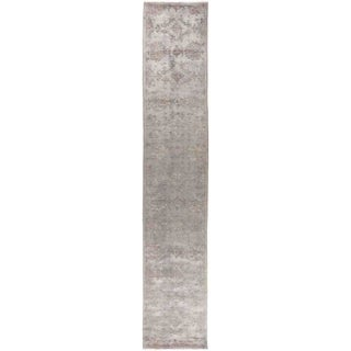 """Vibrance, Hand Knotted Area Rug -  2' 7"""" x 14' 3"""" - 2'7"""" x 14'3"""" Runner"""