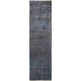 "Vibrance, Hand Knotted Area Rug -  2' 7"" x 9' 7"" - 2'7"" x 9'7"" Runner"