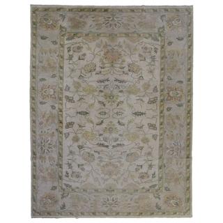 "One-of-A-Kind Handmade Fine Oriental Agra Rug - 10'1"" x 12'8"""