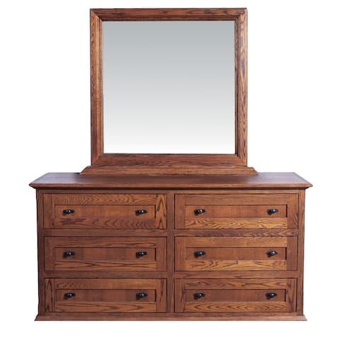 60w Mission Dresser & Mirror
