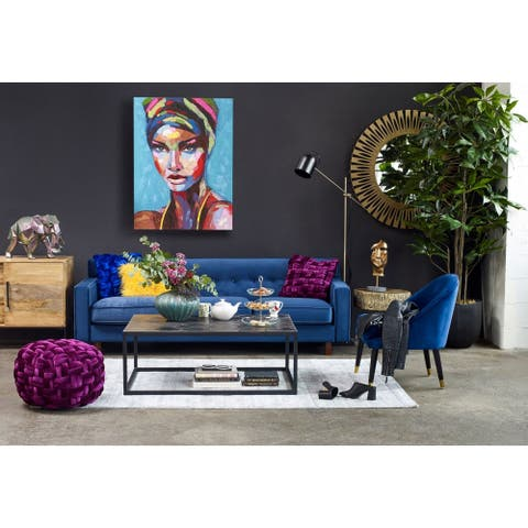 Aurelle Home Guru Handcrafted Colorful Wall Decor - Multi-color