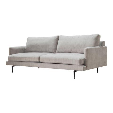 "Aurelle Home Natural Element Classic Mid-Century Modern Sofa - 83"" x 36"""