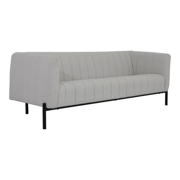 Aurelle Home Scandinavian Clean Line Modern Sofa On Sale Overstock 26041344