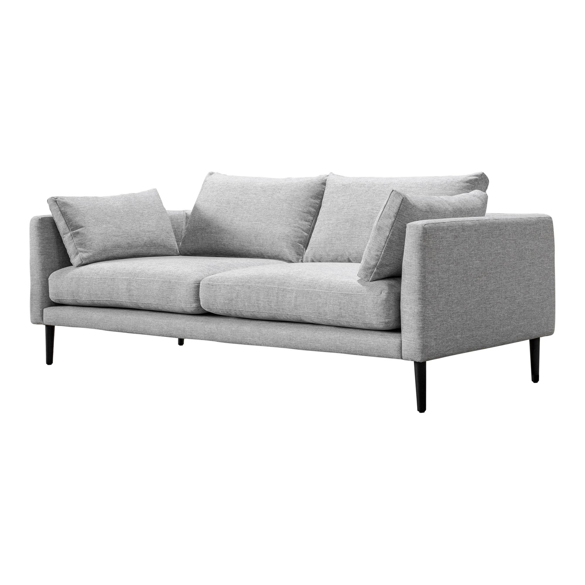 Aurelle Home Clean Line Contemporary Modern Sofa
