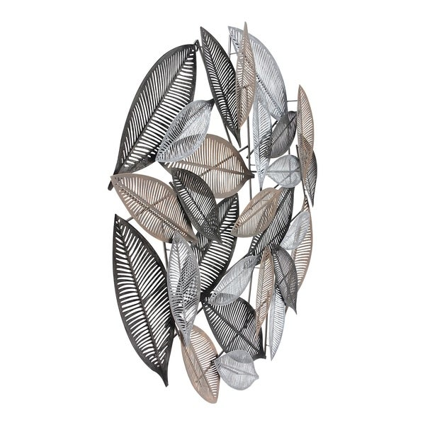 Aurelle Home Glam Transitional Leaves Wall Decor. Opens flyout.