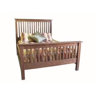 Mission Queen Slat Bed 64W x 60H x 93D