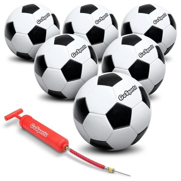 "GoSports 5/"" Mini Basketball 3 Pack for Mini Hoops *Bonus Premium Pump*"