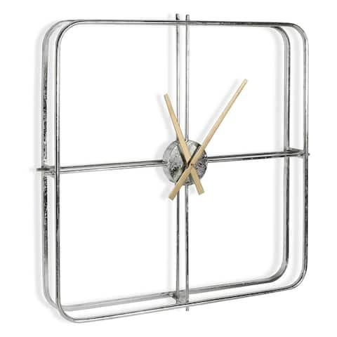 Lincoln Metal Wall Clock
