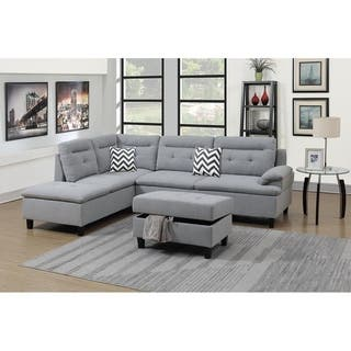 Buy Off White Chaise Sectional Sofas Online At Overstock