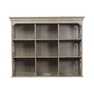 Simply Elegant Heathered Taupe Credenza Hutch