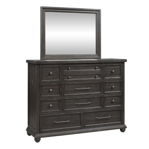Copper Grove Strelcha Chalkboard Dresser and Mirror