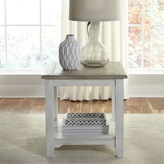 Summerville Soft White Wash End Table