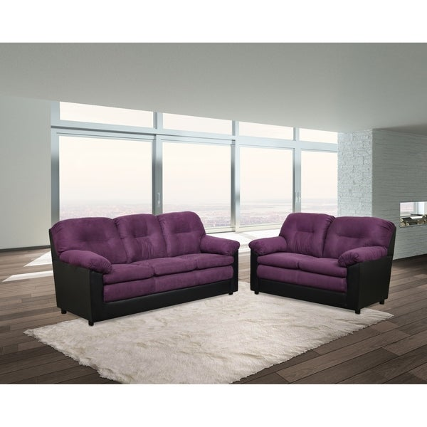 Altario Two Piece Sofa and Loveseat Set