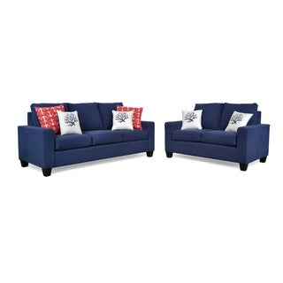 Panama Two Piece Sofa and Loveseat Set