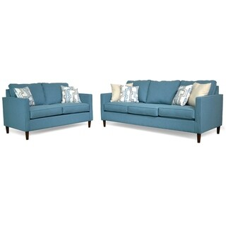 Cornwall Two Piece Sofa and Loveseat Set