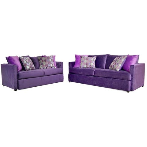 Adams Two Piece Sofa and Loveseat Set
