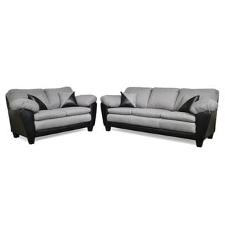Sergio Two Piece Sofa and Loveseat Set