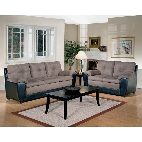 Miraculous Shop Lambert Two Piece Sofa Loveseat Set On Sale Free Lamtechconsult Wood Chair Design Ideas Lamtechconsultcom