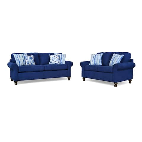 Greenville Two Piece Sofa and Loveseat Set