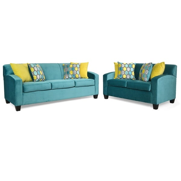 Cicero Two Piece Sofa and Loveseat Set