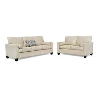 Easton Two Piece Sofa and Loveseat Set