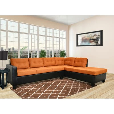 Buy Orange Sectional Sofas Online at Overstock   Our Best ...