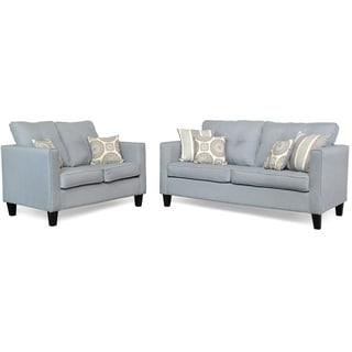 Belzoni Two Piece Sofa and Loveseat Set