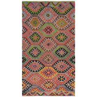 eCarpetGallery  Flat-weave Sivas Dark Copper Wool Kilim - 6'0 x 11'3