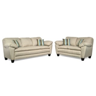 Dupree Two Piece Sofa and Loveseat Set
