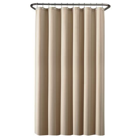 Maytex Waterproof Fabric Shower Curtain or Liner