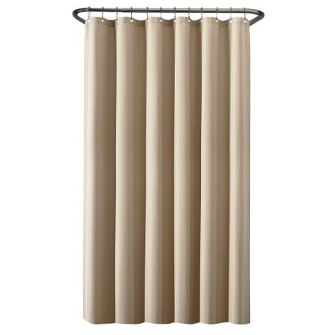 Maytex Waterproof Fabric Shower Curtain or Liner
