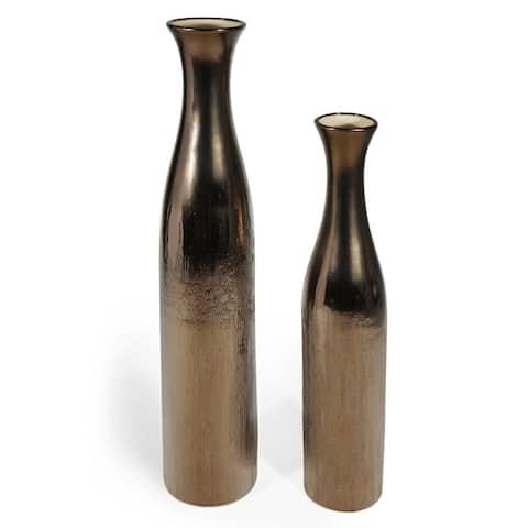 Gunner Ceramic Floor Vase