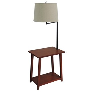"Clifton 54"" Floor Lamp with Table"