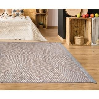 Hand-woven Killarney Newry Brown Wool Area Rug