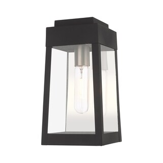 "Livex Lighting Oslo 1-Light Outdoor Wall Lantern - 6.25""w x 12""h x 6.38"" ext."