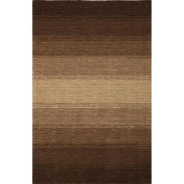 ADDISON Sublime Hand Loomed Wool Ombre Brown. Opens flyout.