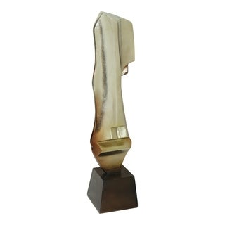 Aurelle Home Tall Abstract Metal Glam Statue