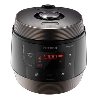 Link to Cuckoo 8 in 1 Multi Pressure cooker Stainless Steel, Made in Korea, ICOOK Q5 SUPERIOR, Midnight, CMC-QSN501S Similar Items in Kitchen Appliances
