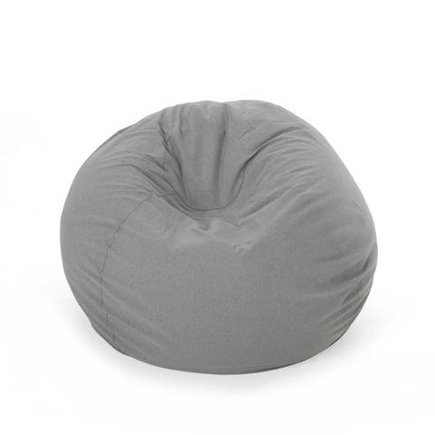 Rosalie Bay Indoor/Outdoor 4.5' Bean Bag by Christopher Knight Home